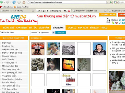 Trang web muaban24.vn bn hng a cp tr hnh?